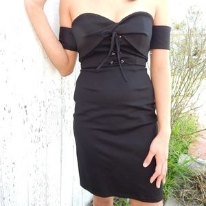 ASTR THE LABEL Corset Body-Con Dress NWOT